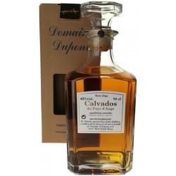 Calvados hors d'âge carafe, Famille Dupont