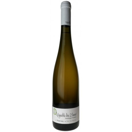 Pinot Gris vendanges tardives mer du nectar 2009, Vignoble des 2 lunes