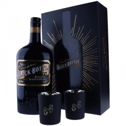 Black Bottle coffret bougies