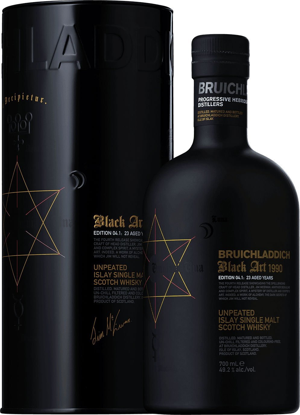 Bruichladdich, Black art 1990