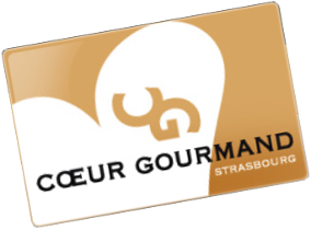 Carte Coeur Gourmand